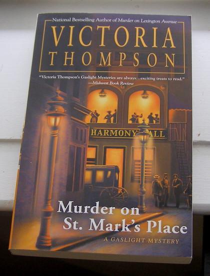 Victoria thompson murder st marks place