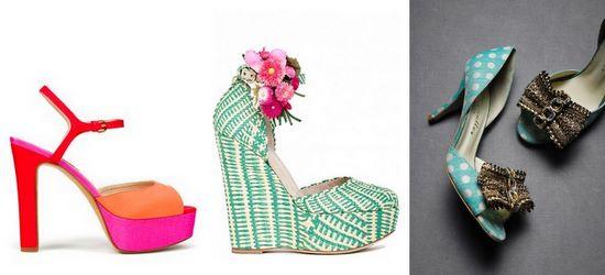 Fabric shoe wrap inspiration