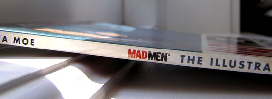 Mad men giveaway spine