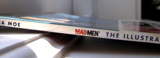 Mad men giveaway spine