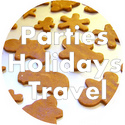 Holidays + Parties + Travel