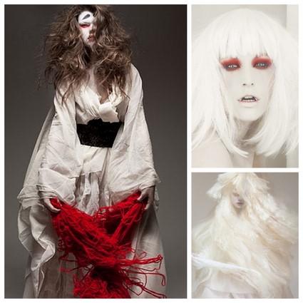 Japanese ghost costume