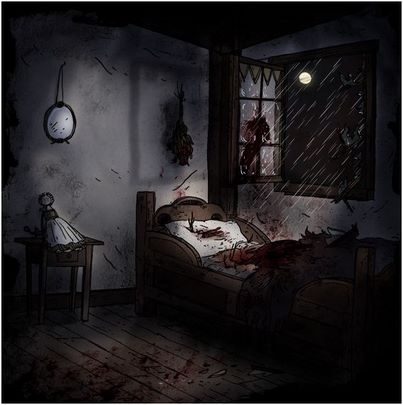 Margot's room by emily carroll
