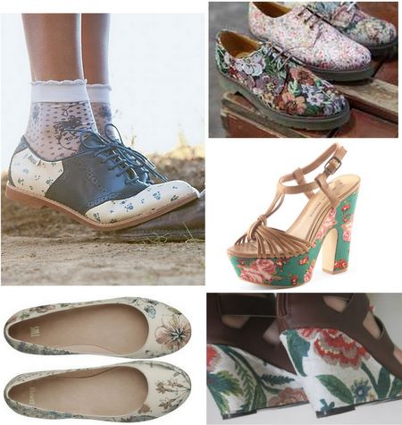 Floral shoes inspiration 2