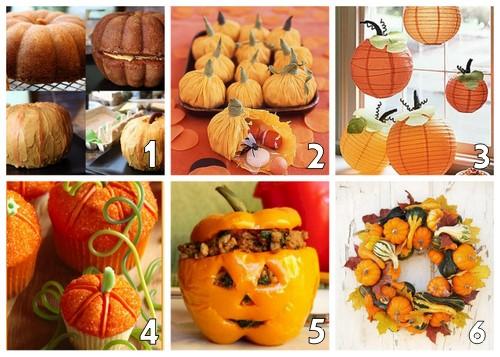 Autumnal pumpkin ideas