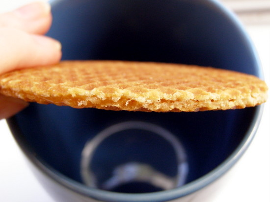 Stroopwafel close-up
