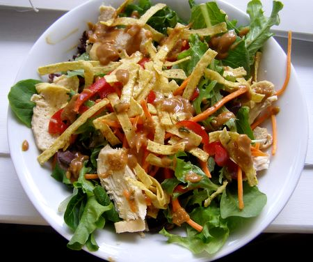 Houston's grilled chicken salad copycat top