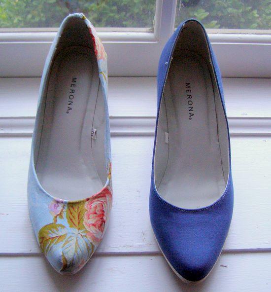 Finished shoe versus old shoe