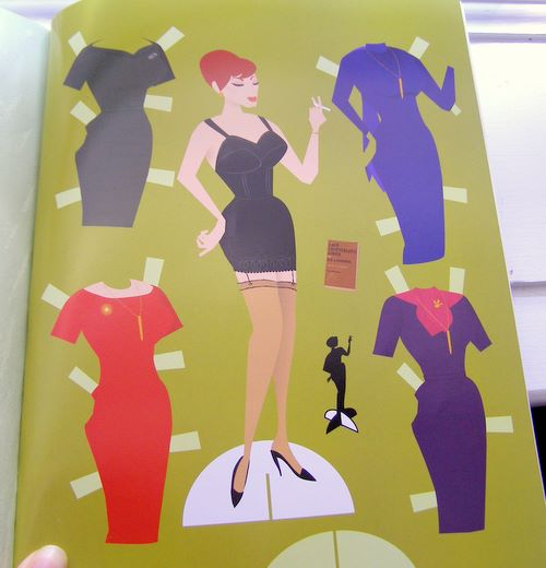 Joan holloway paper dolls