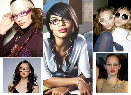 Glassesmodelinspiration